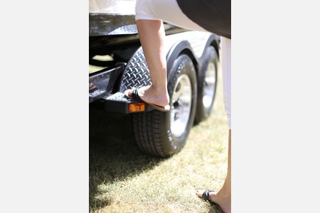 Trailer Fender step pad
